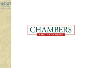 How firms use Chambers