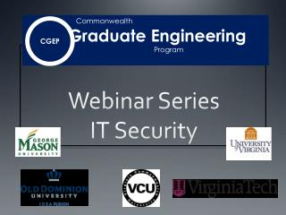 Webinar Series IT Security