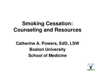Smoking Cessation: