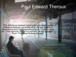 Paul Edward Theroux