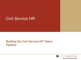 Civil Service HR