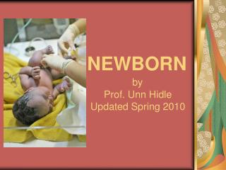 NEWBORN by                          Prof. Unn Hidle                          Updated Spring 2010