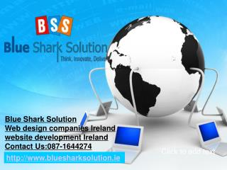 Web design companies Ireland-get the professional help for y