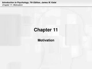 Chapter 11 Motivation