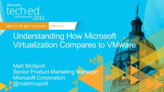 Understanding How Microsoft Virtualization Compares to VMware