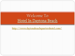 Daytona Inn Beach Resort