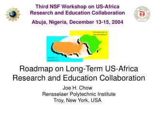 Roadmap on Long-Term US-Africa Research and Education Collaboration