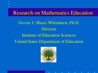 Research on Mathematics Education