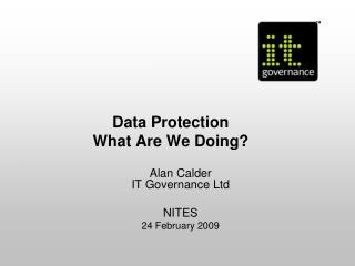 Data Protection What Are We Doing?