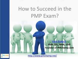 How to succeed in PMP Exam?