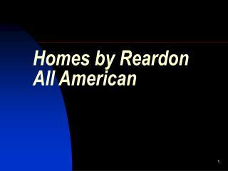 Homes by Reardon All American