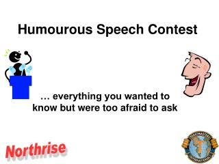 Humourous Speech Contest