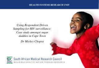 HEALTH SYSTEMS RESEARCH UNIT