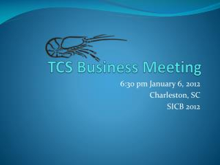 TCS Business Meeting