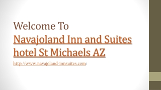 Hotel in St Michaels AZ