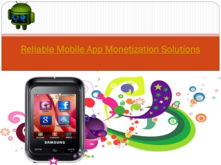 monetization solutions