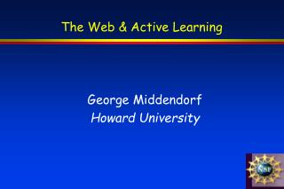 The Web & Active Learning