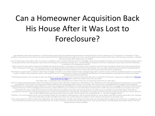 Loan Modification Attorney Las Vegas