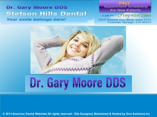 Dental Implants Colorado Springs | Dr. Gary Moore DDS Stetso