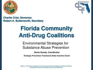 Florida Community Anti-Drug Coalitions
