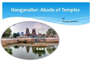 Nanganallur: Abode of Temples