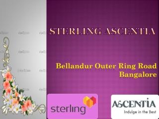 Sterling Ascentia Bangalore 09999684955