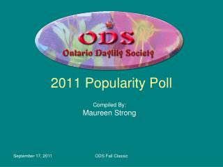 2011 Popularity Poll