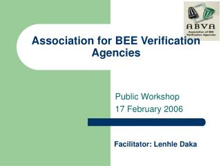 Association for BEE Verification Agencies