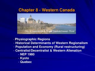 Chapter 8 - Western Canada