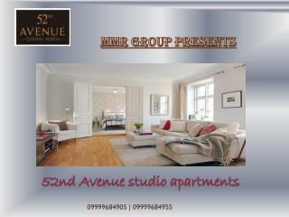 MMR 52nd Avenue sec-52|52nd Avenue studio apartments@9999684
