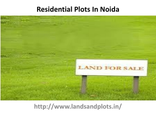 New Residential Plots In Gurgaon