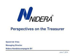 Perspectives on the Treasurer