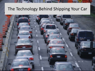 The technology behind shipping your car