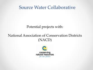 Source Water Collaborative