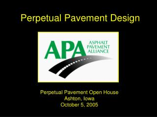Perpetual Pavement Design