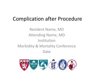 Complication after Procedure