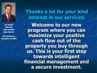 Thanks a lot for your kind interest in our services.