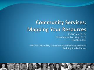 Community Services:  Mapping Your Resources