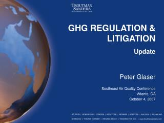 GHG REGULATION