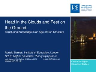 Head in the Clouds and Feet on the Ground: Structuring Knowledge in an Age of Non-Structure