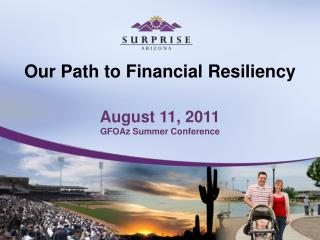 Our Path to Financial Resiliency