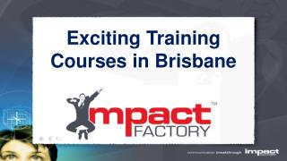 brisbane training courses