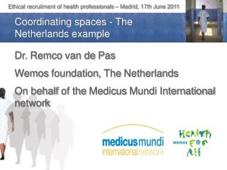 Ethical recruitment of health professionals – Madrid, 17th June 2011