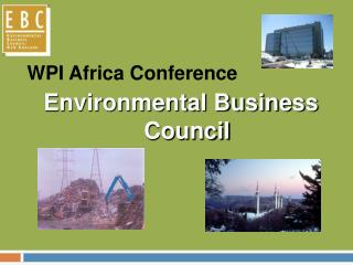 WPI Africa Conference Environmental Business Council