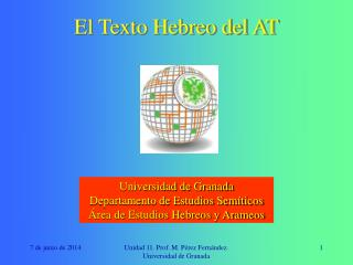 El Texto Hebreo del AT