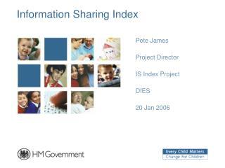 Information Sharing Index