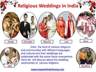 Religious weddings in India