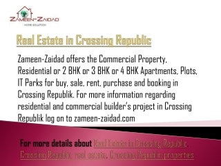 Real Estate in Crossing Republic
