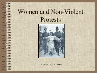 Women and Non-Violent Protests