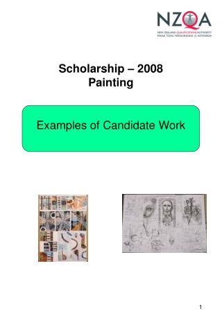 Scholarship – 2008 Painting